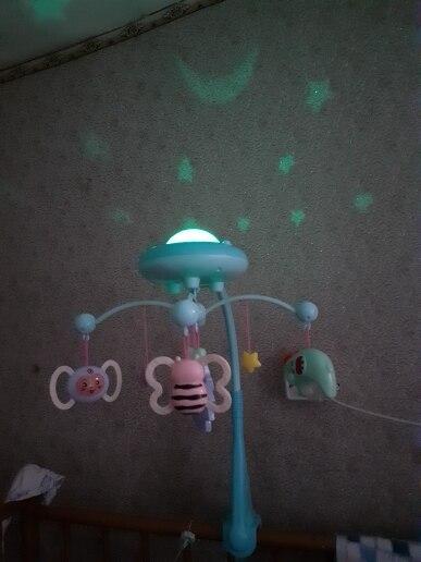 Móbiles e chocalhos para bebês projeção suporte marumine