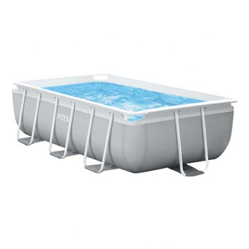 Piscina rectangular Intex 300x175x80cm con depuradora y escalera