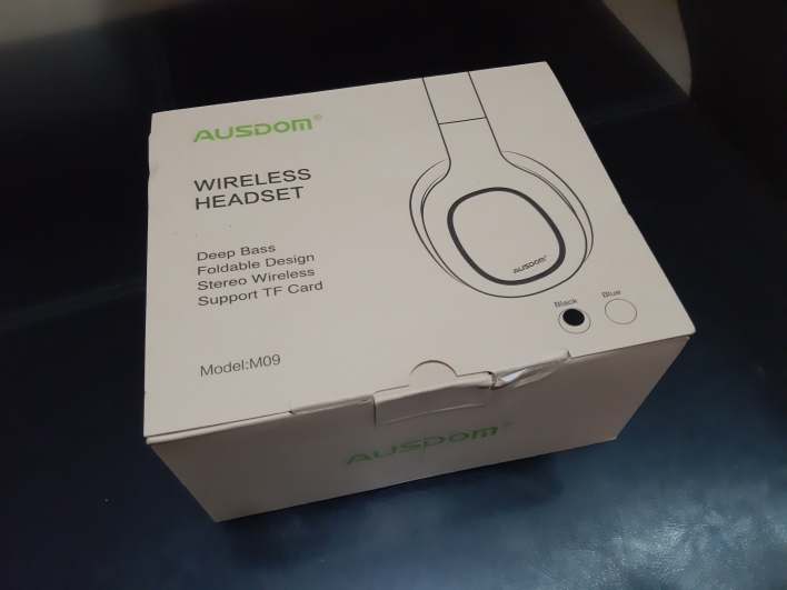 Ausdom M09 Bluetooth Headphone Over Ear Wired Wireless Headphones Foldable Bluetooth 5.0 Stereo Headset with Mic Support TF Card-in Phone Earphones & Headphones from Consumer Electronics on AliExpress