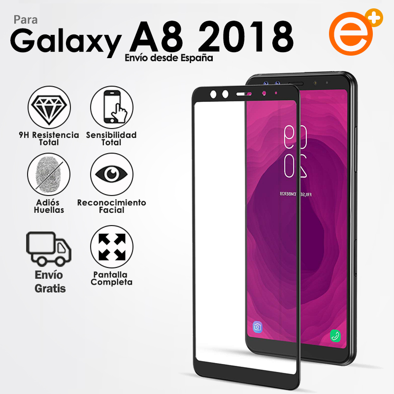 Full Tempered <font><b>Glass</b></font> Screen Protector for <font><b>Samsung</b></font> <font><b>A8</b></font> <font><b>2018</b></font> Security <font><b>Glass</b></font> Protection for Smartphone E-PLUS image