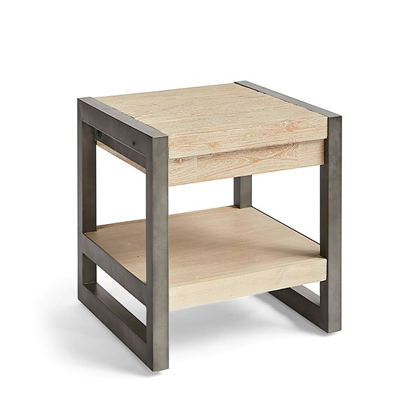 Side Table Acacia (50 X 50 X 40 Cm)
