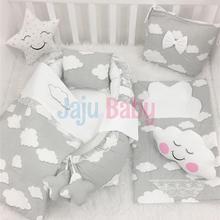 Jaju Baby Babynest Gray Cloud Orthopedic Luxury Baby Nest 8