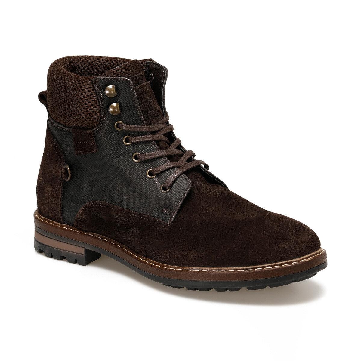 FLO MOON Brown Men Boots U.S. POLO ASSN.
