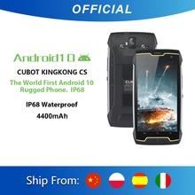 Cubot KingKong CS 안드로이드 10 IP68 방수 스마트 폰 5 인치 4400mAh 얼굴 ID 듀얼 SIM 카드 전화 견고한 전화 킹콩 CS