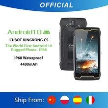 Cubot KingKong CS Android 10 IP68 su geçirmez Smartphone 5 inç 4400mAh yüz kimlik çift SIM kart telefon sağlam telefon king Kong CS