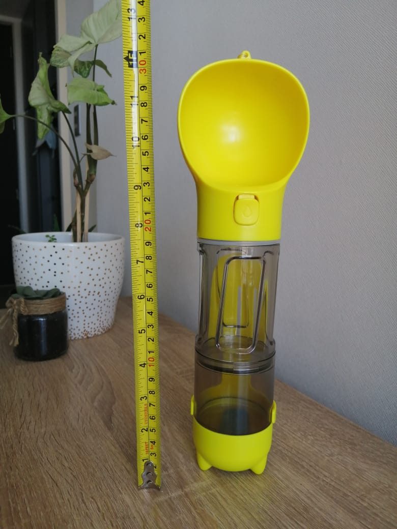 Dog Water Bottle Shovel Food Box photo review