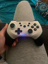 Very good quality control, easy to sync with the console, vibration makes the game experience even