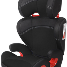 Play Safe Two car seat, group 2/3 (from 15 to 36 kg), height-adjustable head, no isofix, black color