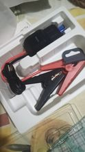 Nice and compact. The description matches the product. I'm charging the battery starter, I