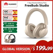 【- $21 kod: GFBSSM22 】 huawei Freebuds Studio słuchawki audiofilskie Bluetooth bezprzewodowy TWS HI-FI ANC typ C gamingowy zestaw słuchawkowy