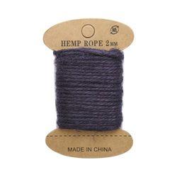 Cuerda de yute, 10 m (azul oscuro)