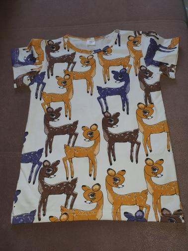 Kids Boy Girl T-Shirts Short Sleeve Children's Tees Baby Girl Tops O-Neck Cartoon Casual Girl T Shirts Children Clothes Summer photo review