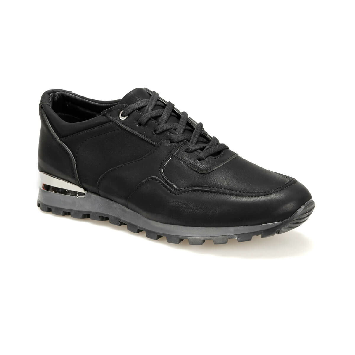 FLO 71450-C Black Male Shoes Forester
