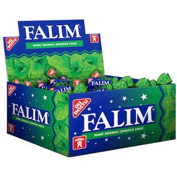 Falim mięta o smaku cukru bez cukru guma do żucia 100 sztuk za darmo SHİPPİNG tanie i dobre opinie Mężczyzna 12 + y HK (pochodzenie)