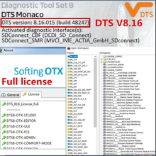 2020,06 последние DTS ccc V8.16 полная Лицензия для mb star c4 sd c5 vci c6 xentry/das загрузка и установка и активация