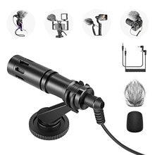 Neewer cm14 микрофон для телефона мини видео на камеру с микрофоном