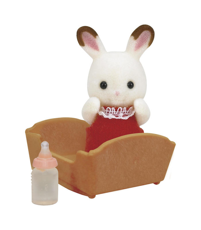 Baby Rabbit Chocolate Sylvanian Families Toy Store