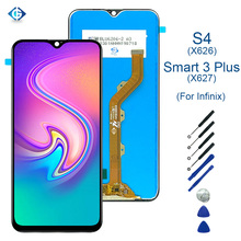 6.2'' For Infinix Smart 3 Plus X627 LCD Display Touch Screen Digitizer Assembly for Infinix S4 X626 LCD Screen Replacement Parts-in Mobile Phone LCD Screens from Cellphones & Telecommunications on AliExpress