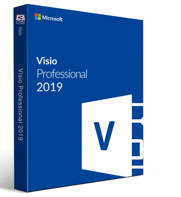 Hot selling Microsoft Visio Professional 2019 32/64 Bit Download Visio 2019 pro key