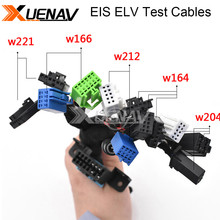 Newest EIS ELV Test Cables for Mer cedes Works Together with VVDI MB BGA TOOL and CGDI Prog MB (5 in 1) W204 W212 W221 W164 W166