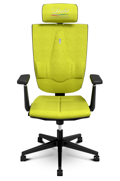 Office Chair KULIK SYSTEM SPACE Olive Computer Chair Relief And Comfort For The Back 5 Zones Control Spine