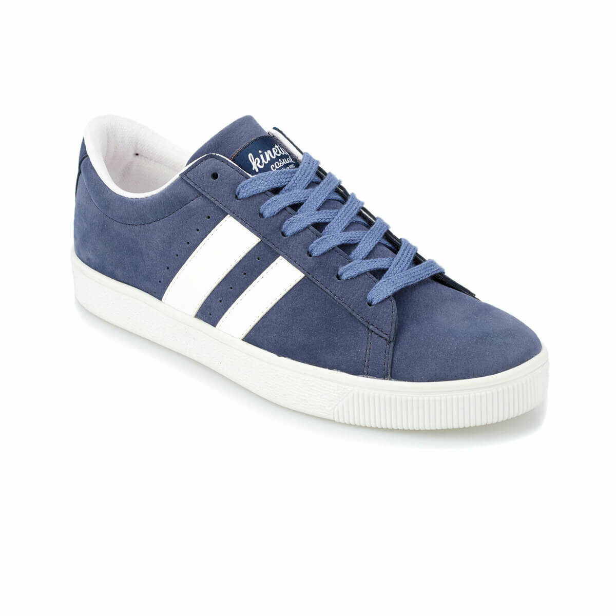 FLO FAITH Navy Blue Men 'S Shoes KINETIX
