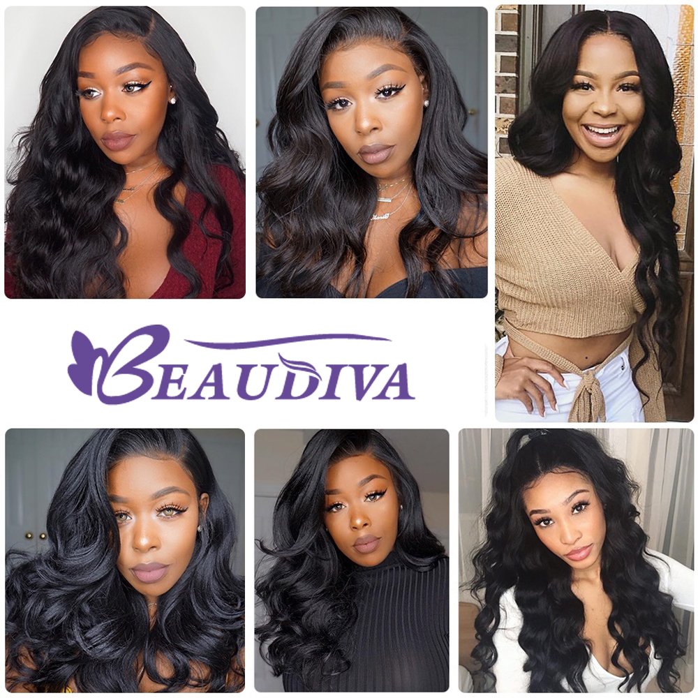 Lace Front  Wig Pre Plucked With Baby Hair  Body Wave Wig 360 Lace  Wigs  2
