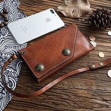 SIKU genuine leather men wallets Fashion men purse famous brand wallet men
