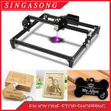Totem 300x400mm Big Area CNC laser Engraver 2.5W/5.5W Fast Speed cutting machine tool carving wood/Leather/Metal/Acrylic