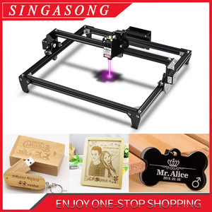 Image 1 - Totem 300x400mm Big Area CNC laser Engraver 2.5W/5.5W Fast Speed cutting machine tool carving wood/Leather/Metal/Acrylic