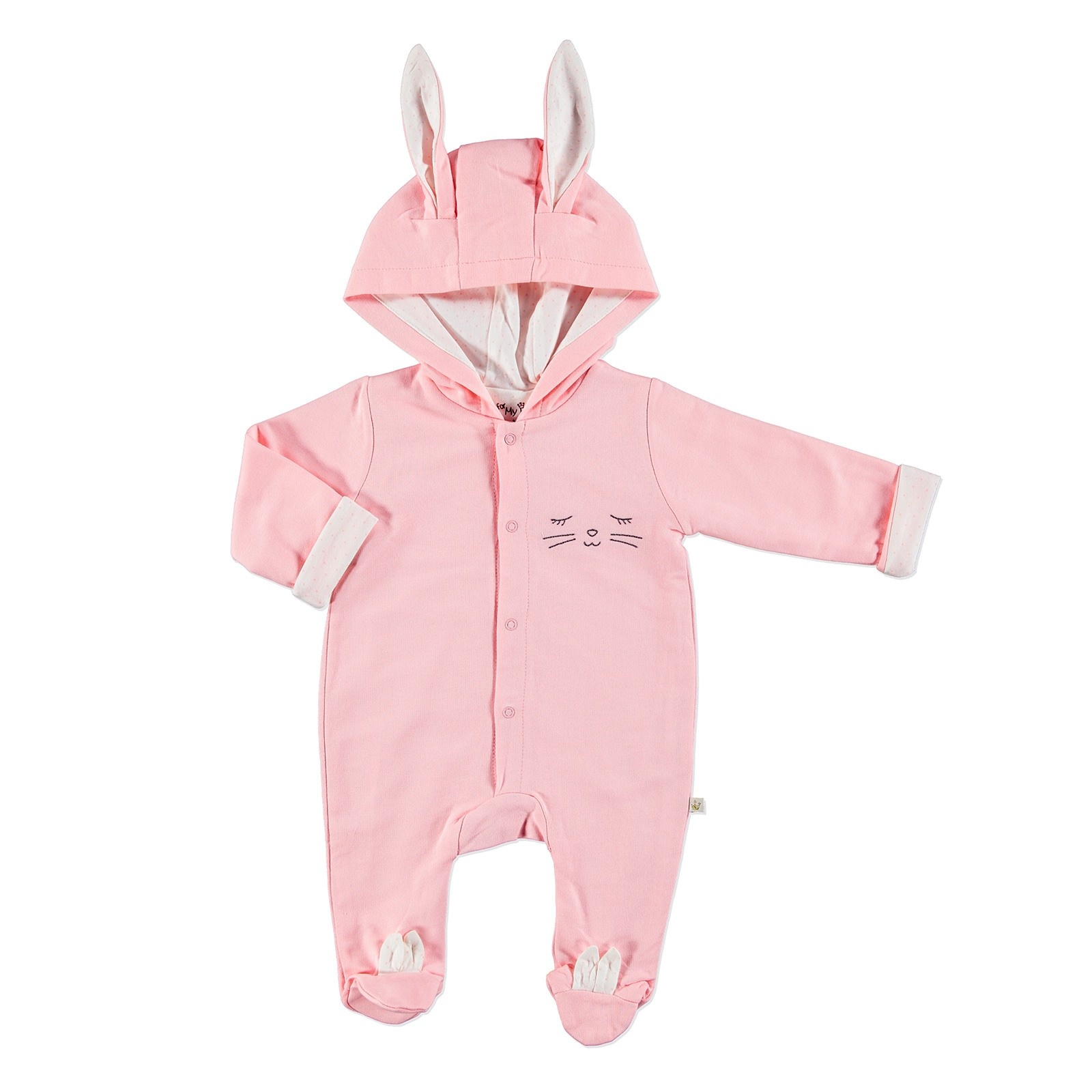 Ebebek For My Baby Bunny Footed Eared Romper