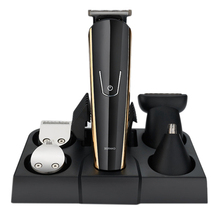 5 in 1 Electric Hair Trimmer Professional Stainless Steel Hair Cutting Machine USB Rechargeable Shaving Razor For Man
