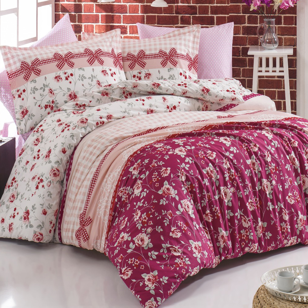 Lady Moda Bedding Set | Kuki Luxury Ranforce Bed Linen Set Twin/Full/Queen/King Size 3/4/5 pcs Duvet Cover Set from Turkey