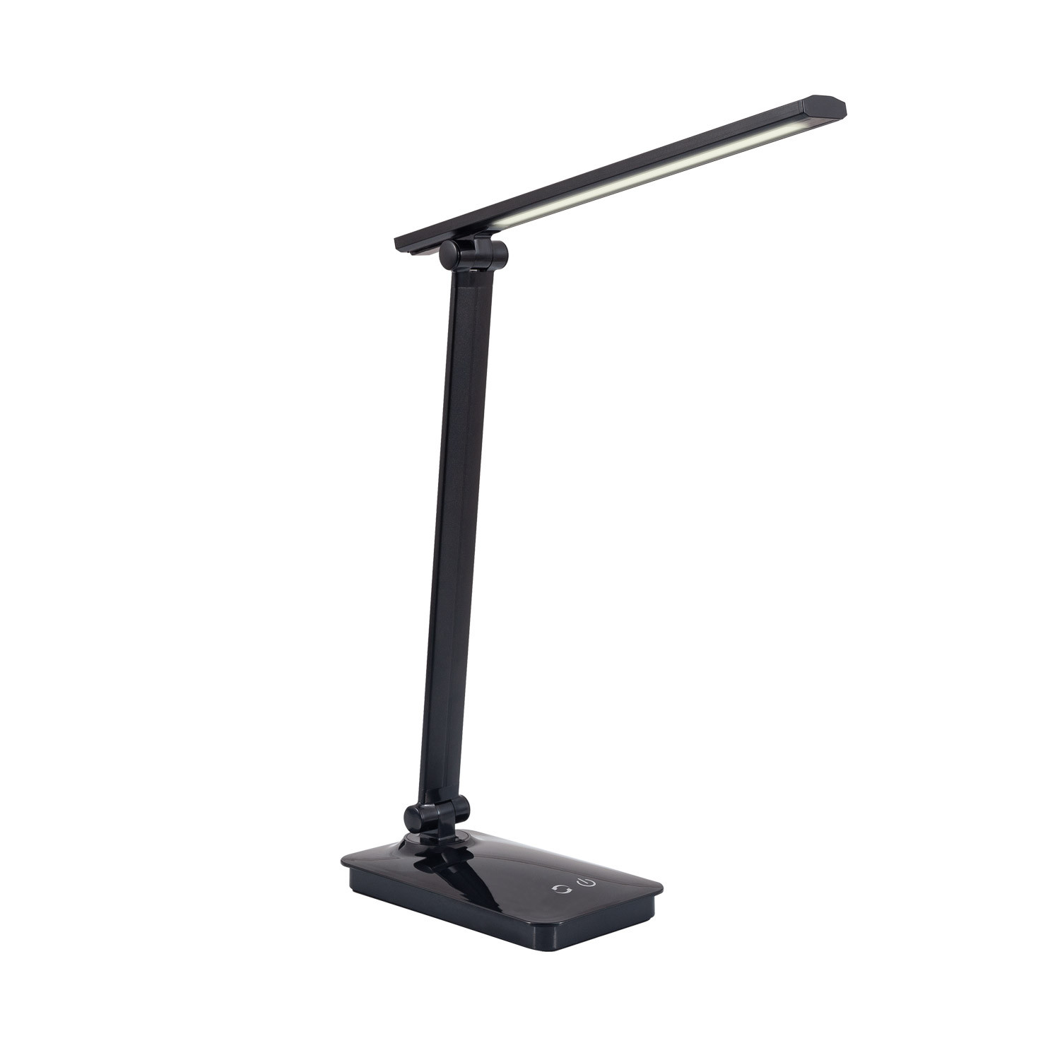 TECHBREY Flexo LED Harbin Dimmable CCT Selectable 5W With USB Table Lamp, Desk Organizer Office Auxiliary