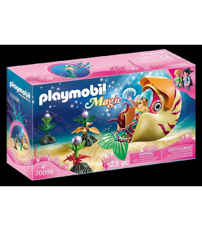 Playmobil 70098 Mermaid With Sea Snail Toy Store