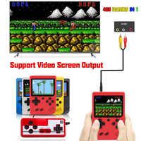 Nuevo vídeo Retro integrado en 400 Gameboy, caja de juegos LCD de 3,0 pulgadas a Color + Gamepad 2 jugadores dobles Mini consola de juegos