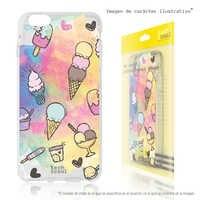 FunnyTech®Stand case for Xiaomi Silicone MI5 Mini ice-cream fund artistic