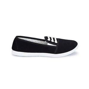 FLO 81. 354987.Z Black Women Slip On Shoes Polaris