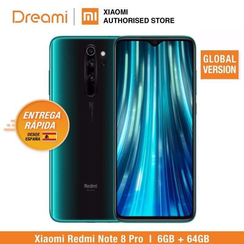 Versión Global Xiaomi Redmi Note 8 PRO 64GB ROM 6GB RAM, ROM Oficial (Nuevo y Sellado) note8 pro ROM global Xiaomi Redmi 7 Snapdragon 632 Octa Core 4GB RAM 64GB ROM 12MP Cámara dual ia teléfono móvil 4000mAh Batería grande