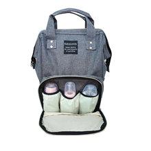 Wysokiej jakości plecak mamusi o dużej pojemności torba na pieluchy dla niemowląt szary tanie tanio 0-3 miesięcy 4-6 miesięcy 7-9 miesięcy 10-12 miesięcy 13-18 miesięcy 19-24 miesięcy 2 lat w górę 7-36 miesięcy