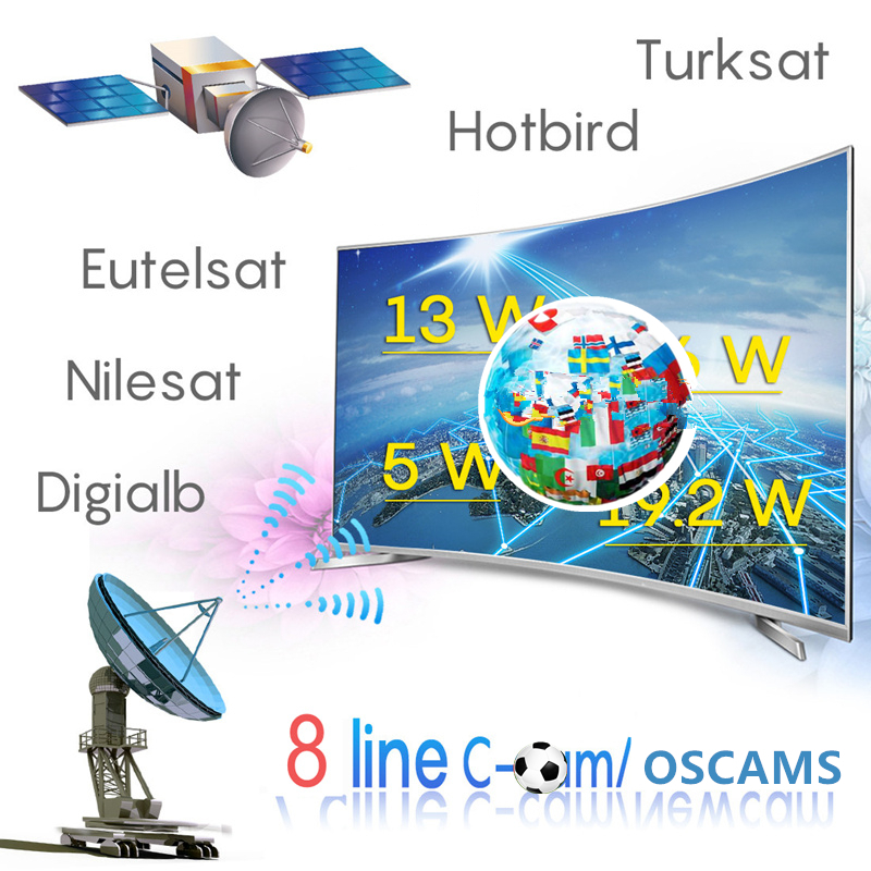 Oscam Europe Cline Cccam Europa Poland Germany For Portugal DVB S2 Enigma 2 Sat Receiver 4k X7 Free DAZN Cccam Europa Server