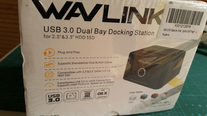 Wavlink Dual Bay SATA to USB3.0 External Hard Drive Docking Station for 2.5/3.5inch HDD/SSD Offline Clone/Backup/UASP Functions reviews №3 104579