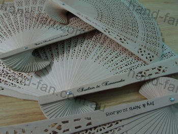 50 custom sandalwood fans family reunion party ideas supplies  baby shower anniversary birthday party