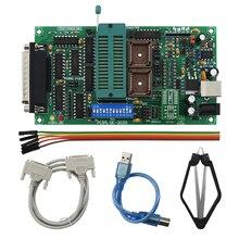 Программатор SPI 25xx PCB5.0T 2013 Willem EPROM, BIOS009 PIC, поддержка 0.98d12, рекламный зажим PLCC32 + SOIC 8 контактный адаптер