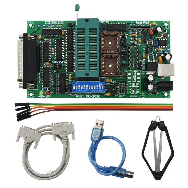 SPI 25xx PCB5.0T 2013 Willem EPROM مبرمج ، BIOS009 الموافقة المسبقة عن علم ، دعم 0.98d12 ، تعزيز كليب PLCC32 + SOIC 8 دبوس محول