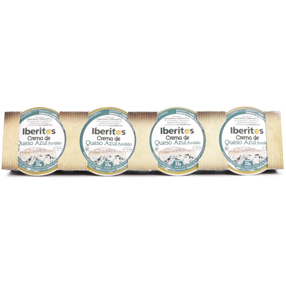 IBERITOS-упаковка 4 синий сыр в монодозе 23g-синий сыр
