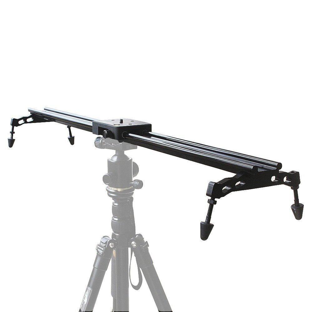 Commlite 80cm 32'' Sliding-pad Video Track Slider Dolly Slider Video Stabilizer System For DSLR, Camcorders