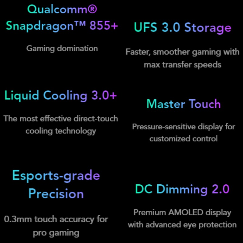 Global Version Xiaomi Black Shark 2 Pro 128GB ROM 8GB RAM Gaming phone (Brand New / Sealed) blackshark Smartphone Mobile