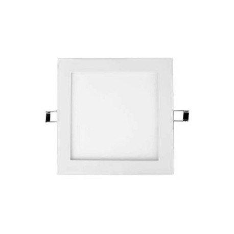 Downlight LED Recessed Square 18 W 3000 K WHITE