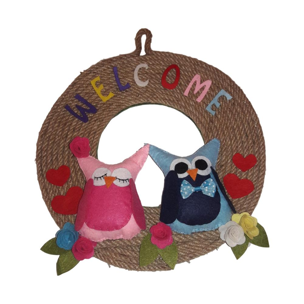Felting Door Hanger, Personalized, Special Door Hanger, Adhoc Door Hanger Model 3